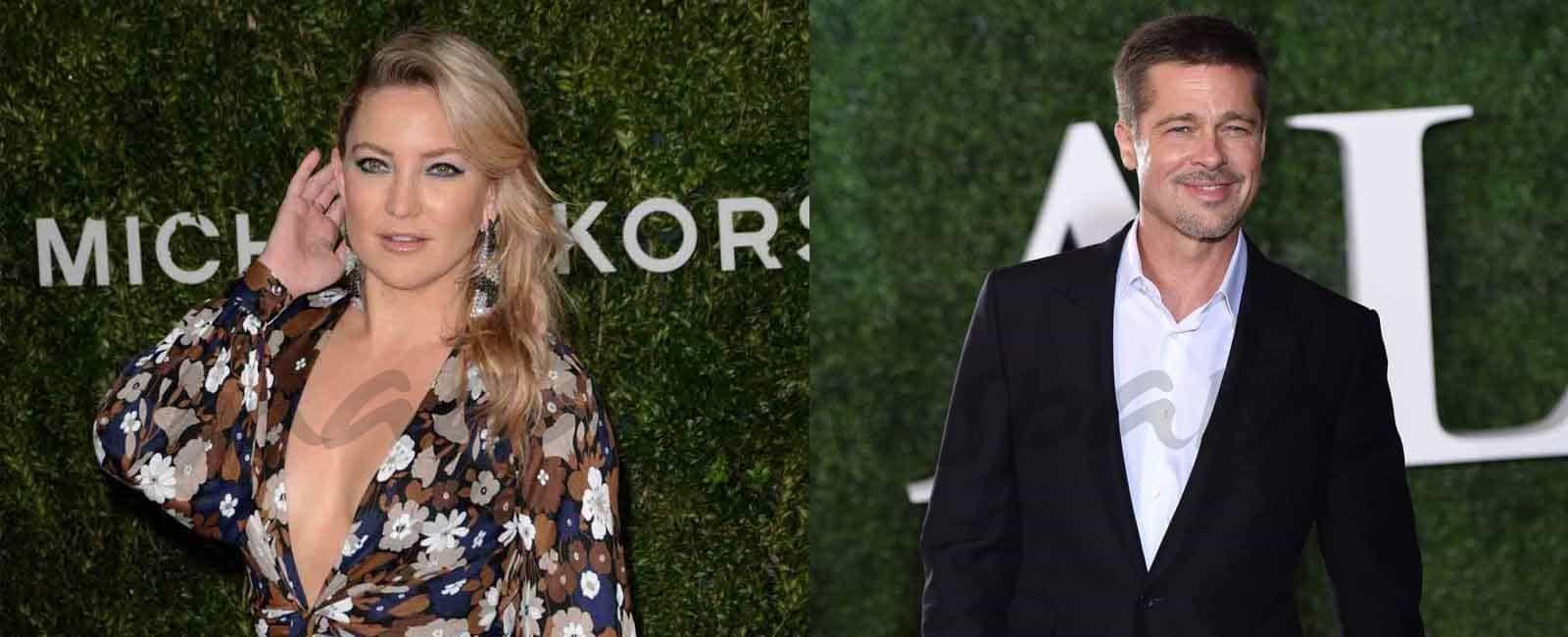 Brad Pitt y Kate Hudson nueva pareja