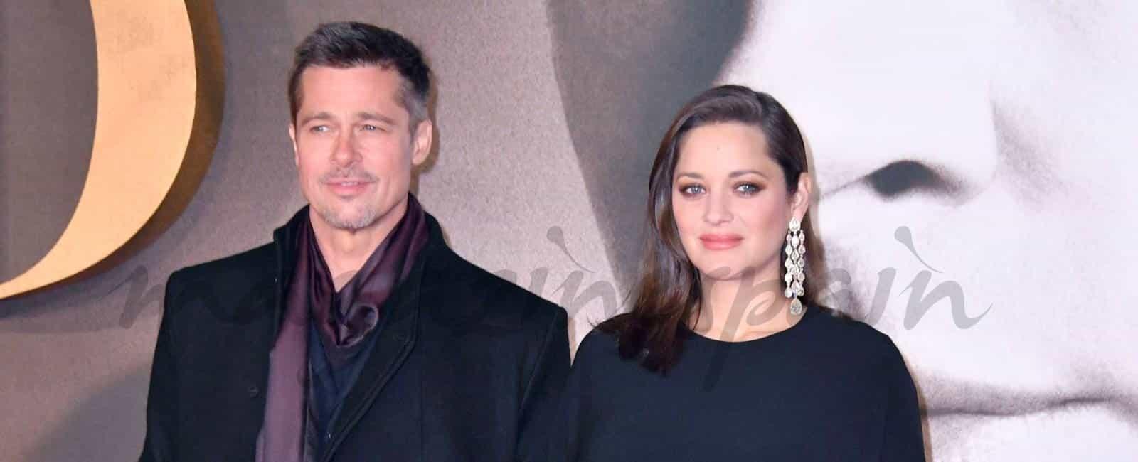Brad Pitt y Marion Cotillard presentan hoy en Madrid, «Aliados»