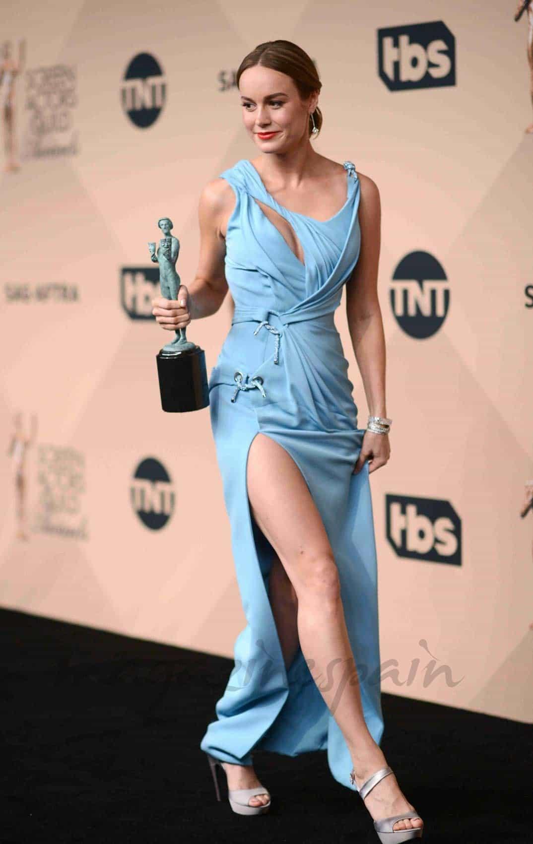 brie larson premio mejor actriz por la asociacion de actores