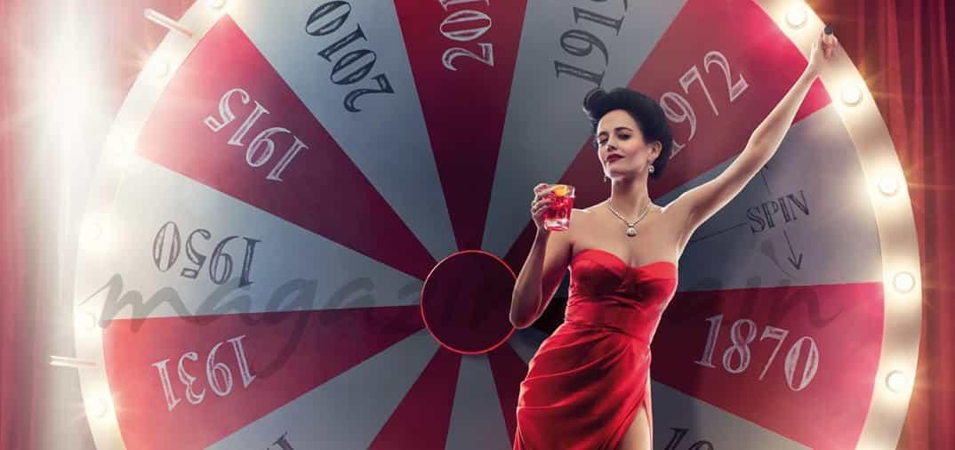Eva Green, espectacular mujer de rojo para Campari