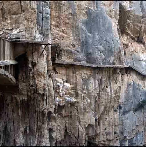 """""""Caminito del Rey"""", el camino más peligroso del mundo, estaba en Málaga"""