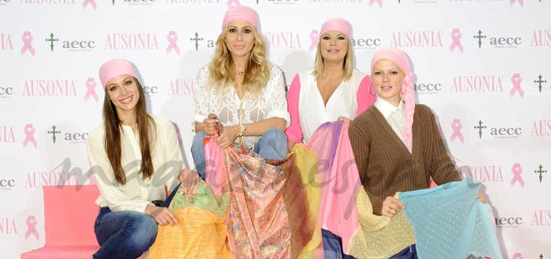 Famosas contra el cáncer de mama