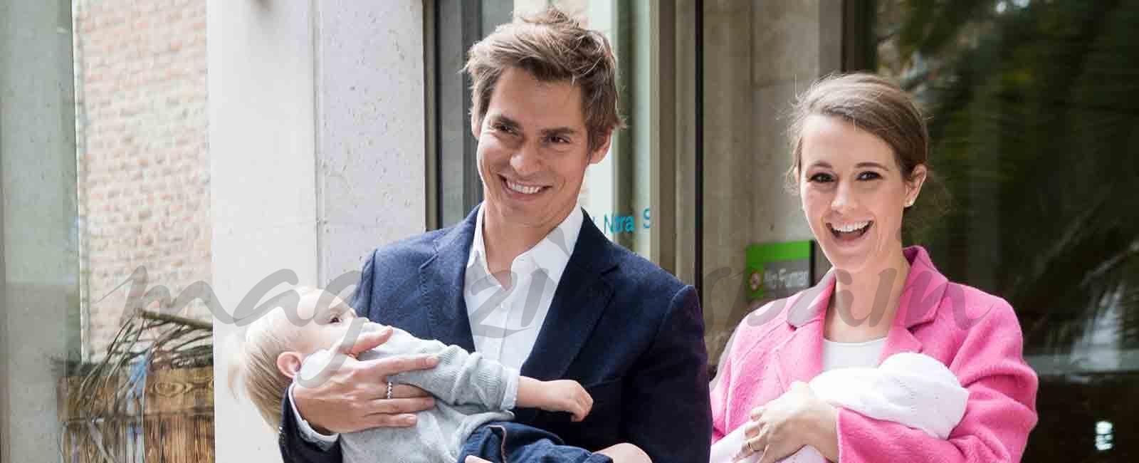 Carlos Baute y Astrid Klisans de nuevo padres