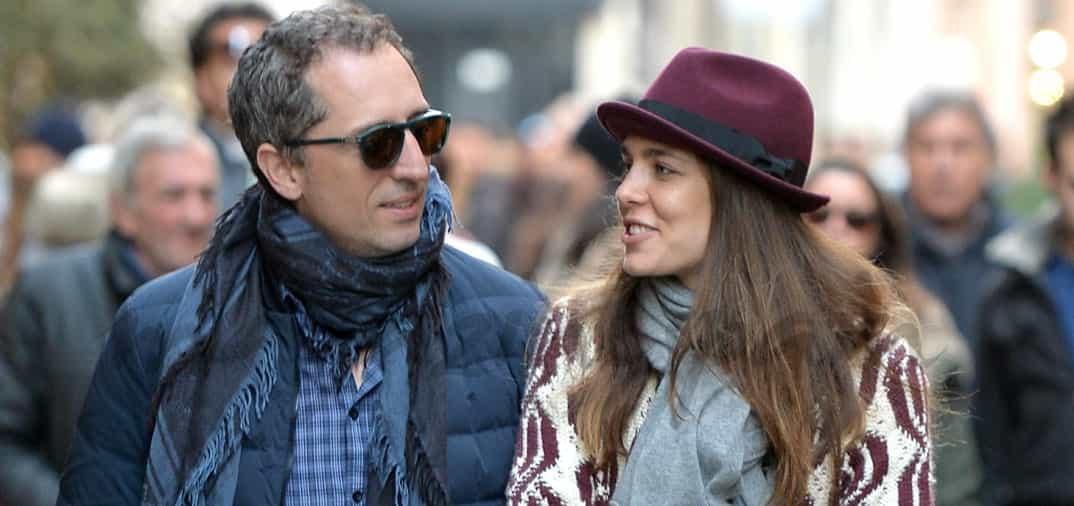 La princesa Carlota y Gad Elmaleh, amor «a la italiana»