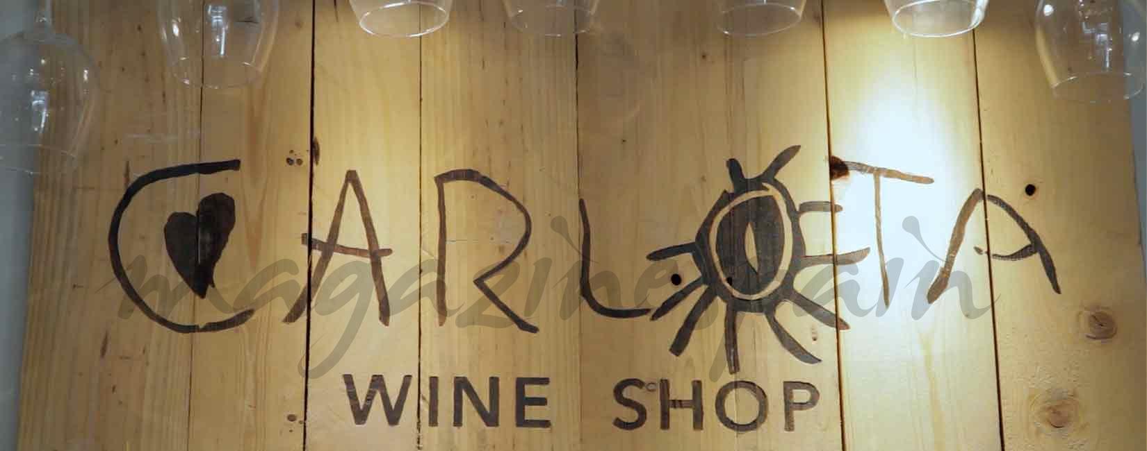 Fran Larrañaga en Carlota Wine Shop