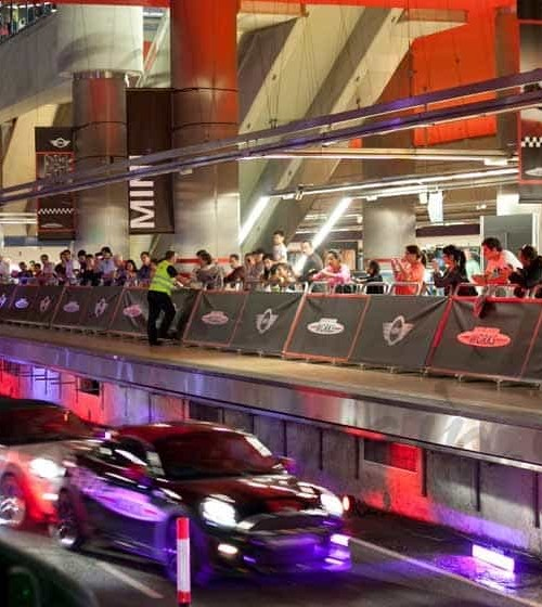 Velocidad, adrenalina y diversión en el metro de Madrid