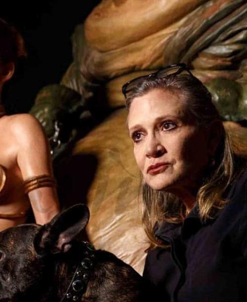 Carrie Fisher se reencuentra con la Princesa Leia