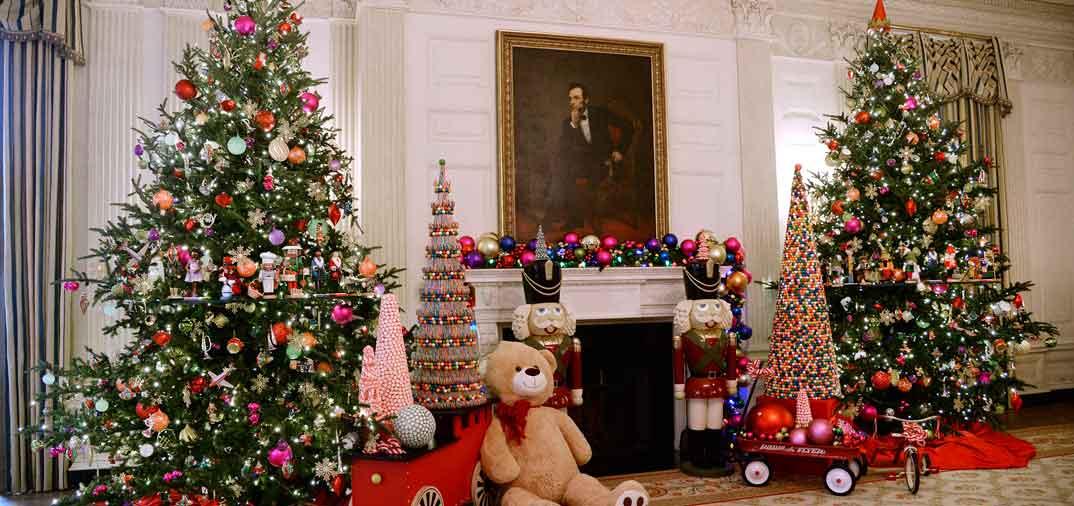 Michelle obama inaugura la navidad en la casa blanca - La casa de la navidad ...