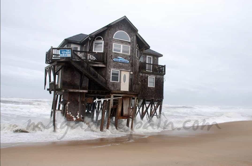 Flotando en el mar - Casas en el mar ...