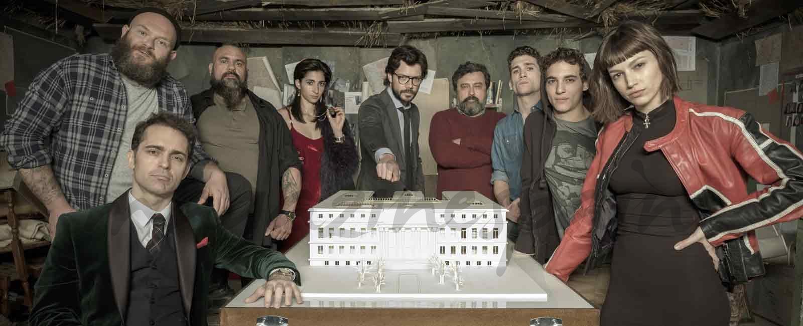 Estreno de «La Casa de papel»… ¿Quieres formar parte del mayor atraco de la historia?