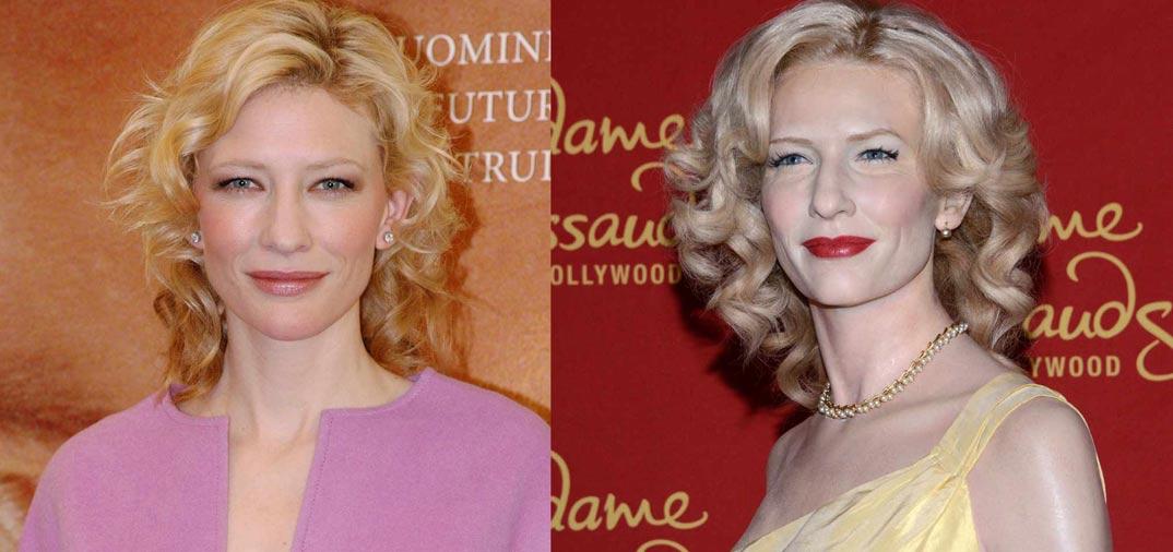 Cate Blanchett de cera