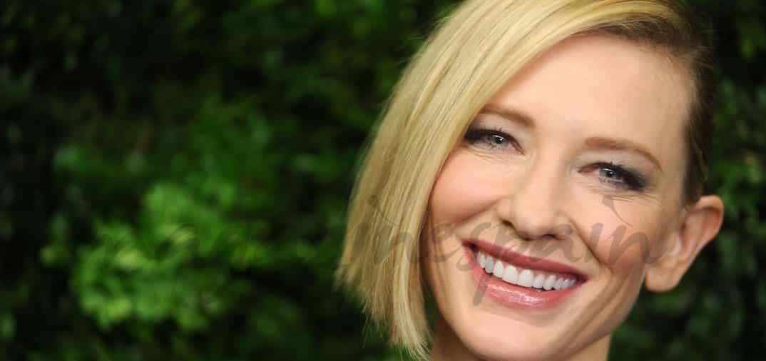 Cate Blanchett quiere estar con su hija, y deja el cine durante 2016