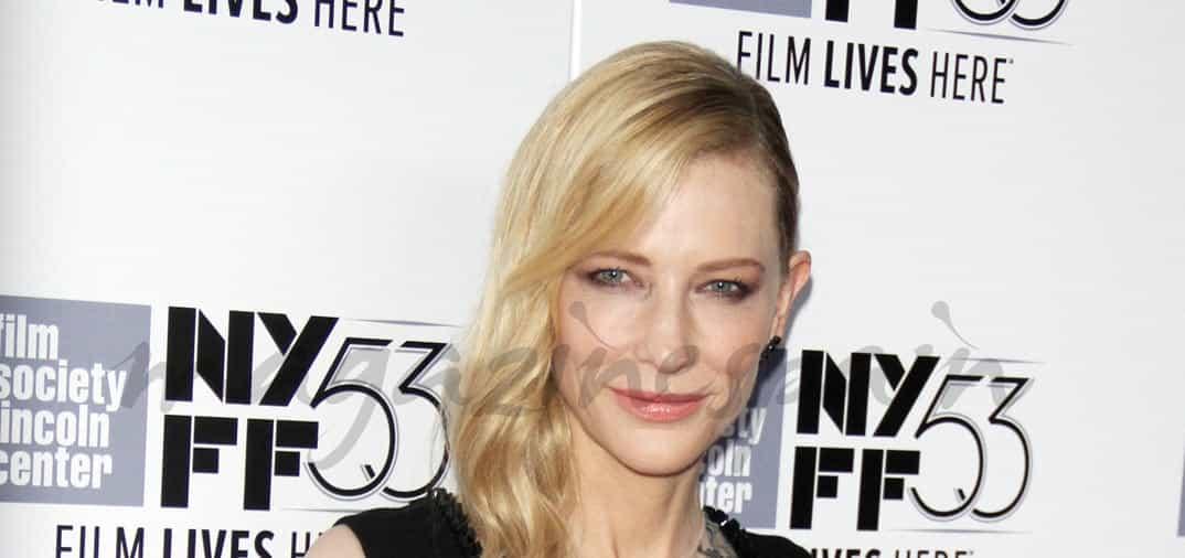 Cate Blanchett y su original vestido «tatuado»
