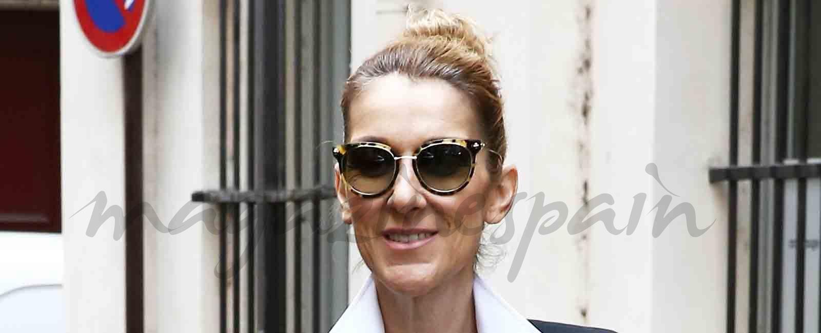 Celine Dion se apunta a las últimas tendencias