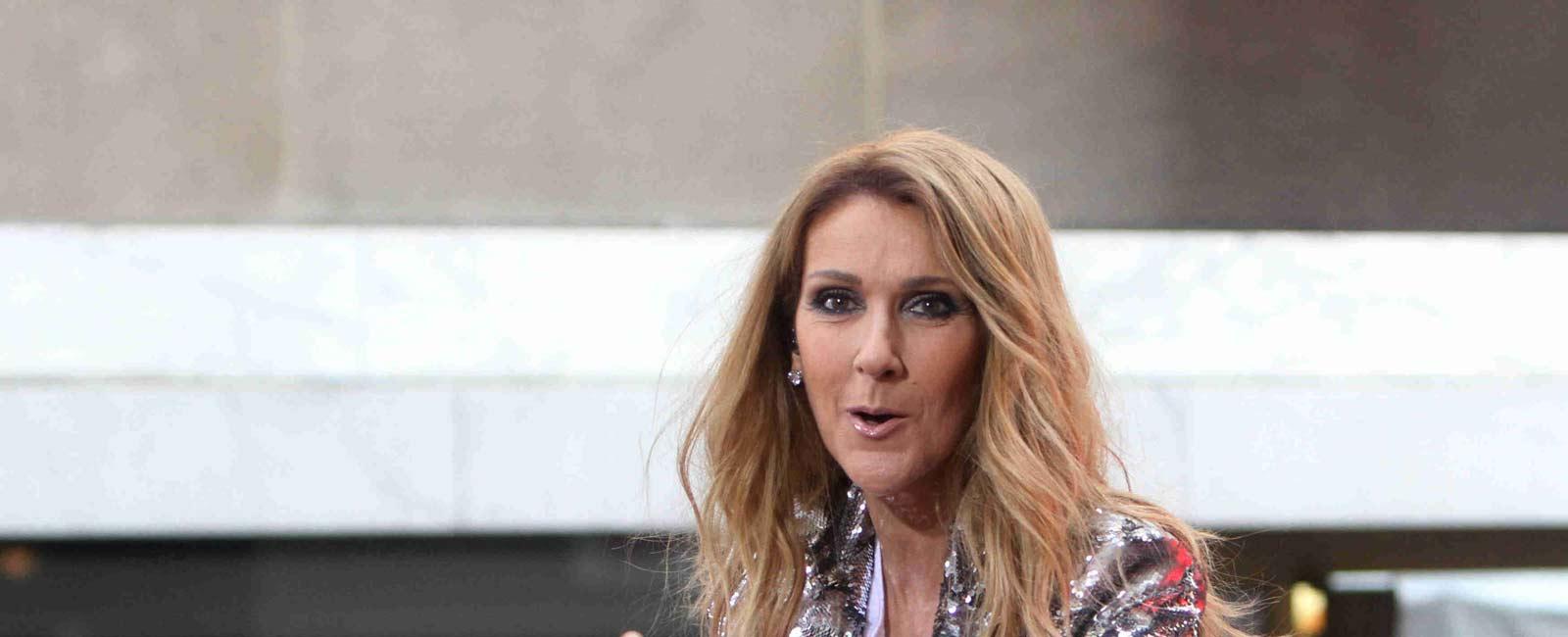Celine Dion recupera su sonrisa