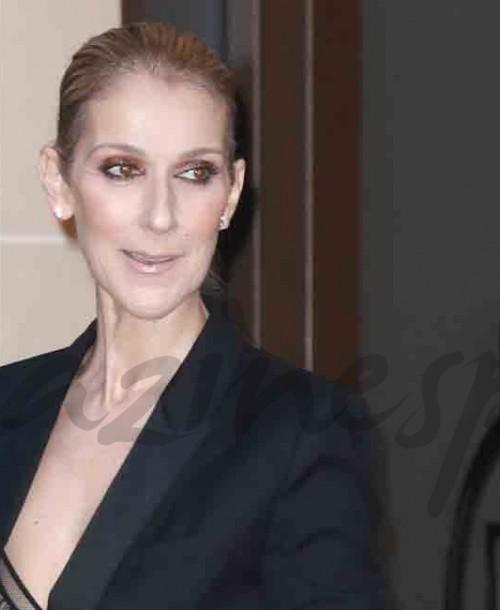 Céline Dion y el español Pepe Muñoz cena en París