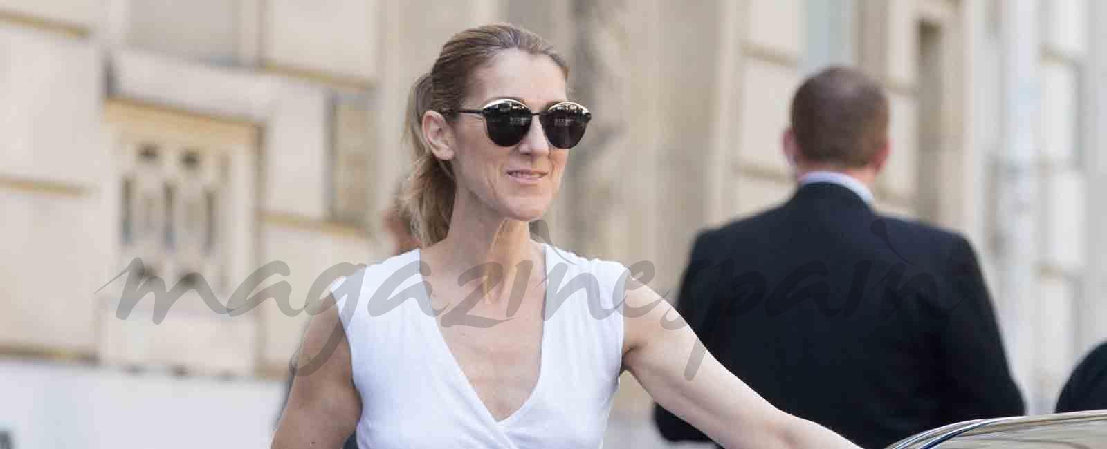 Celine Dion y Pepe Muñoz continúan su romance en París