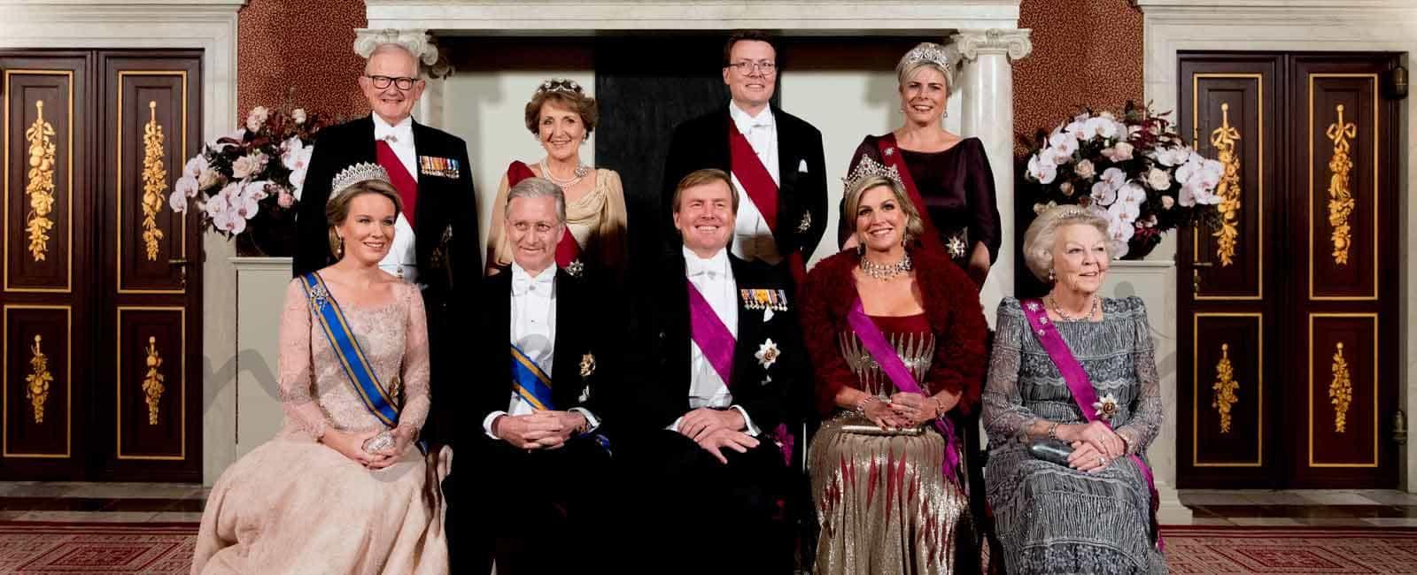 Cena de Gala en el Palacio Real de Ámsterdam