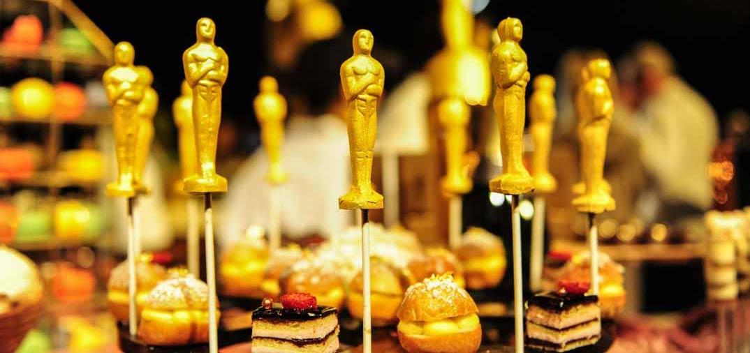 Caviar, langosta, chocolate bañado en oro de 24 kilates… así es la fiesta de los Oscar