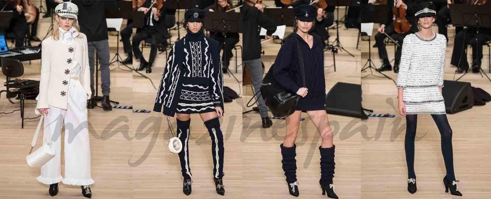 Chanel presenta su desfile Métiers d'art 2017-2018 en Hamburgo