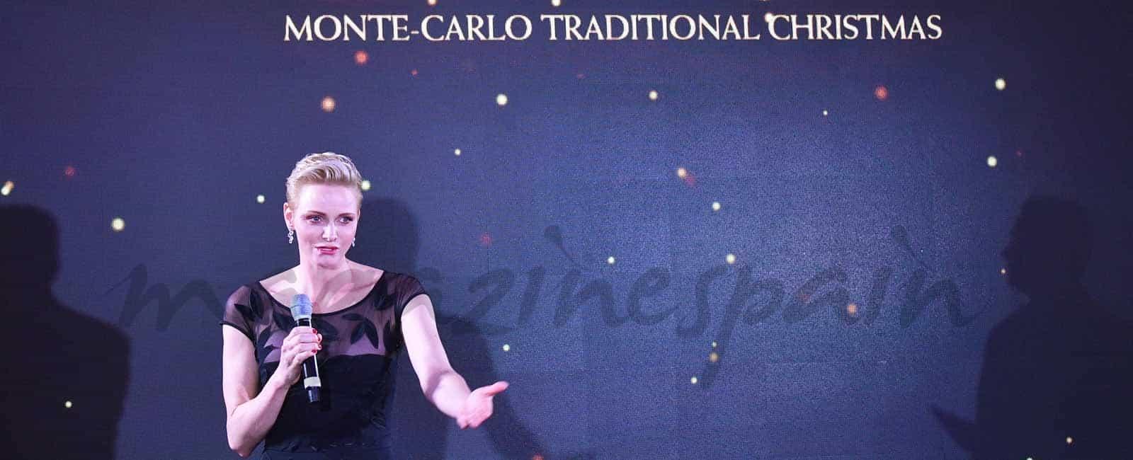 Charlene de Mónaco, solidaria en Navidad
