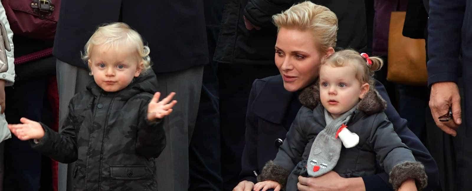 Los príncipes Jacques y Gabriella de Mónaco cumplen dos años