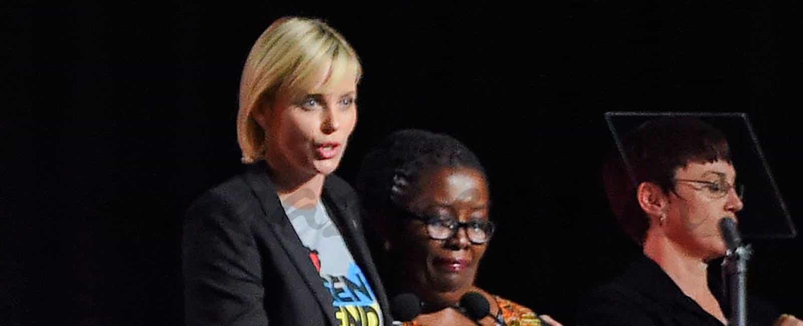 Charlize Theron y su lucha contra el VIH