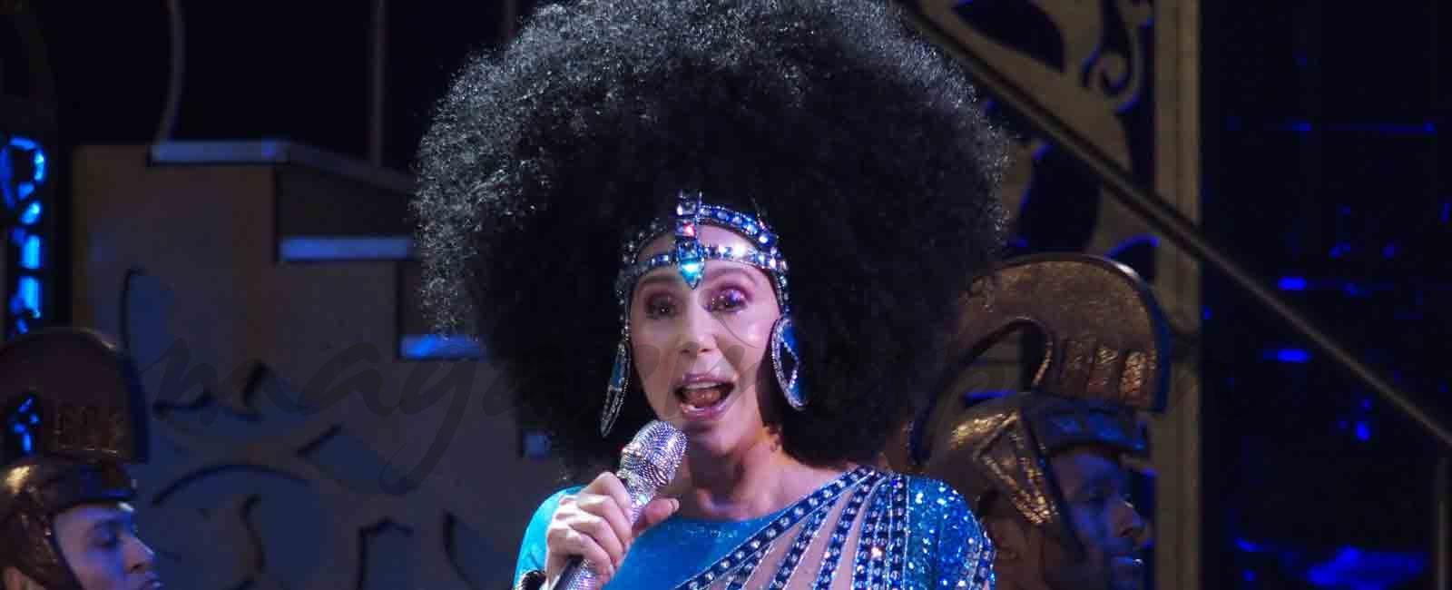 Cher, espectacular sobre el escenario en Las Vegas
