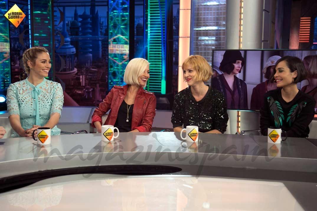 Blanca Suárez, Ana Fernández, Maggie Civantos y Nadia de Santiago © Atresmedia