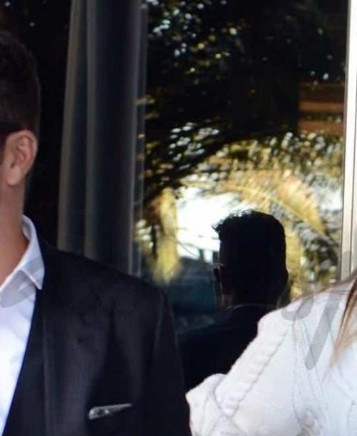 Cholo Simeone acompañado de Carla Pereyra, presenta libro