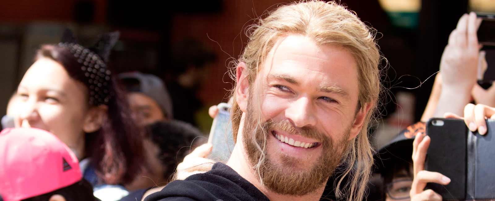 Chris Hemsworth levanta pasiones
