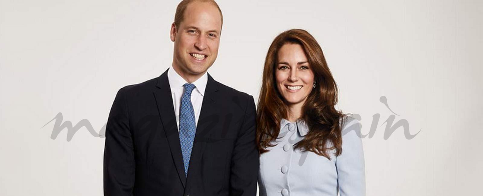 La felicitación navideña de los Duques de Cambridge