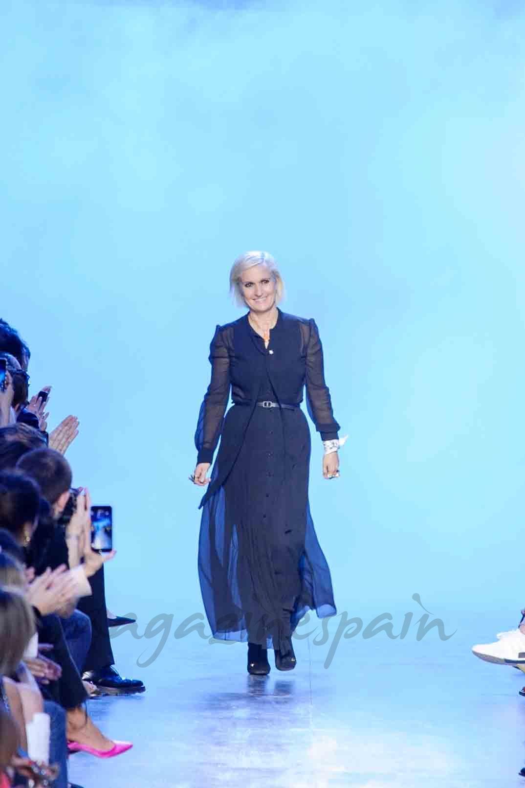 christian dior paris fashion week otoño invierno - Maria Grazia Chiuri