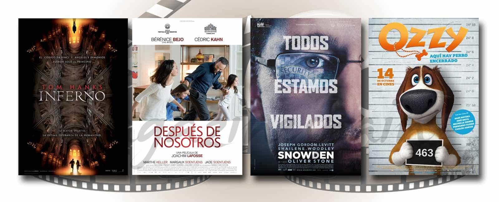 Estrenos de Cine de la Semana… 14 de Octubre de 2016