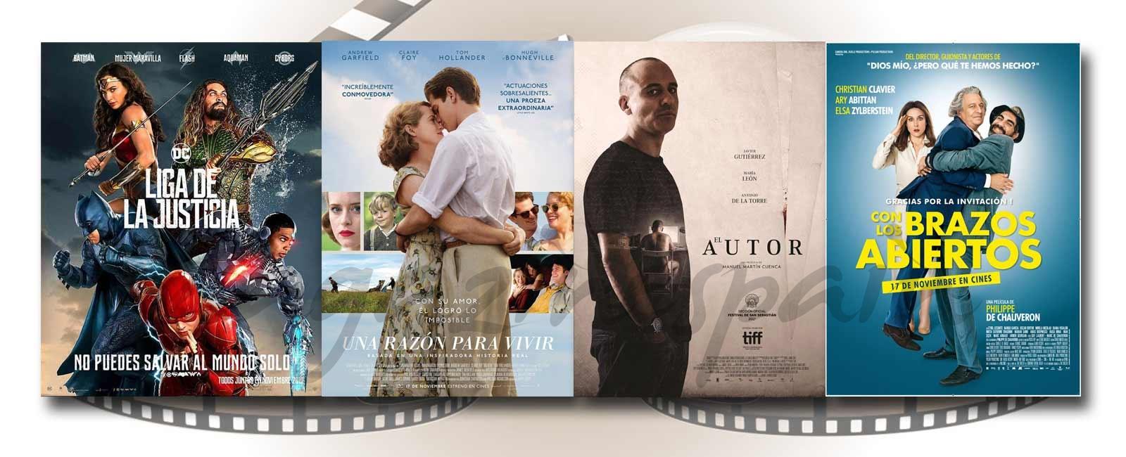 Estrenos de Cine de la Semana… 17 de Noviembre 2017
