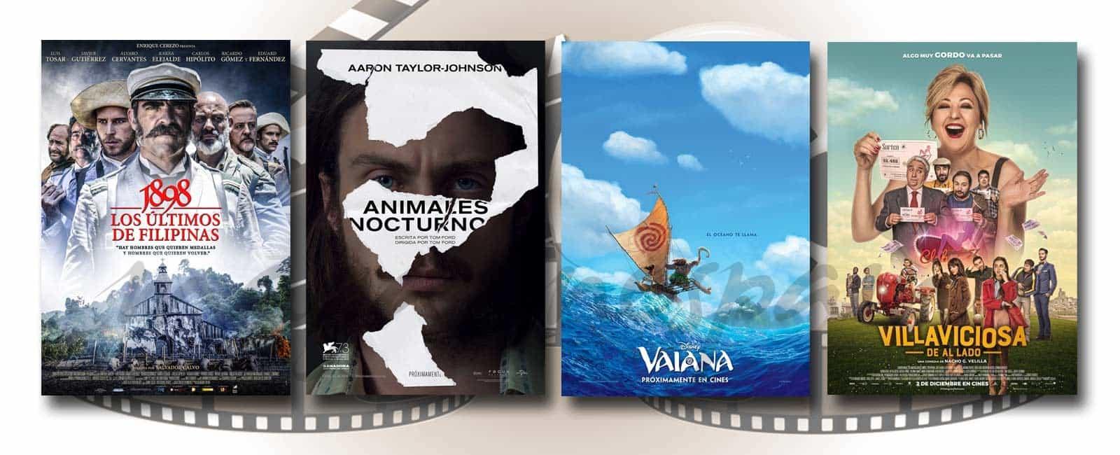 Estrenos de Cine de la Semana… 2 de Diciembre 2016