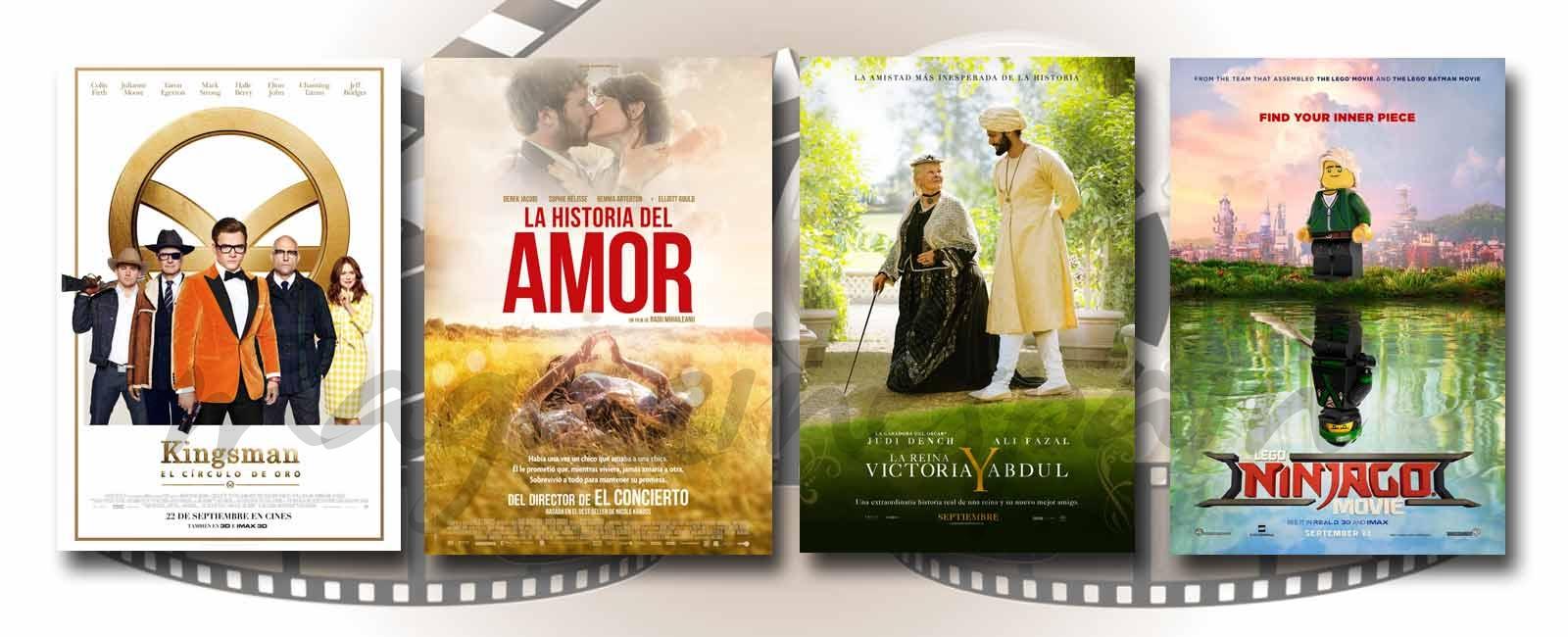 Estrenos de Cine de la Semana… 22 de Septiembre 2017