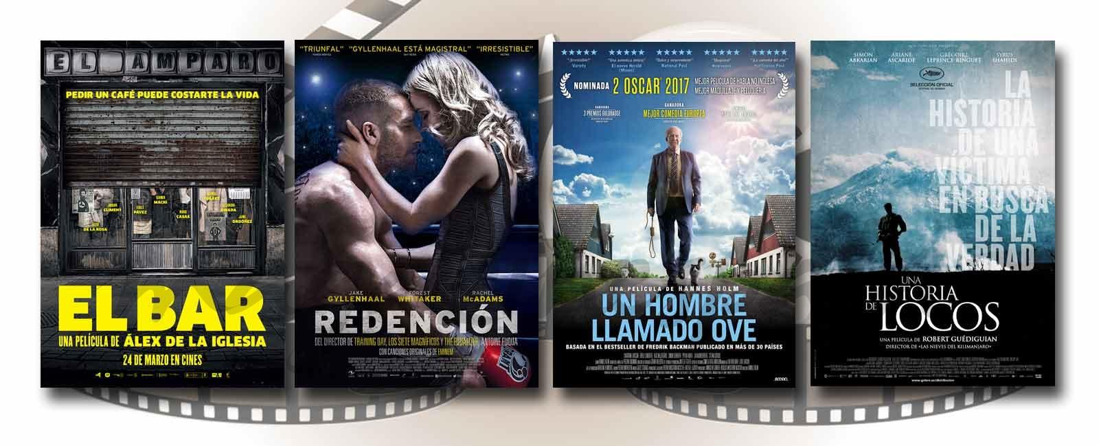 Estrenos de Cine de la Semana… 24 de Marzo 2017