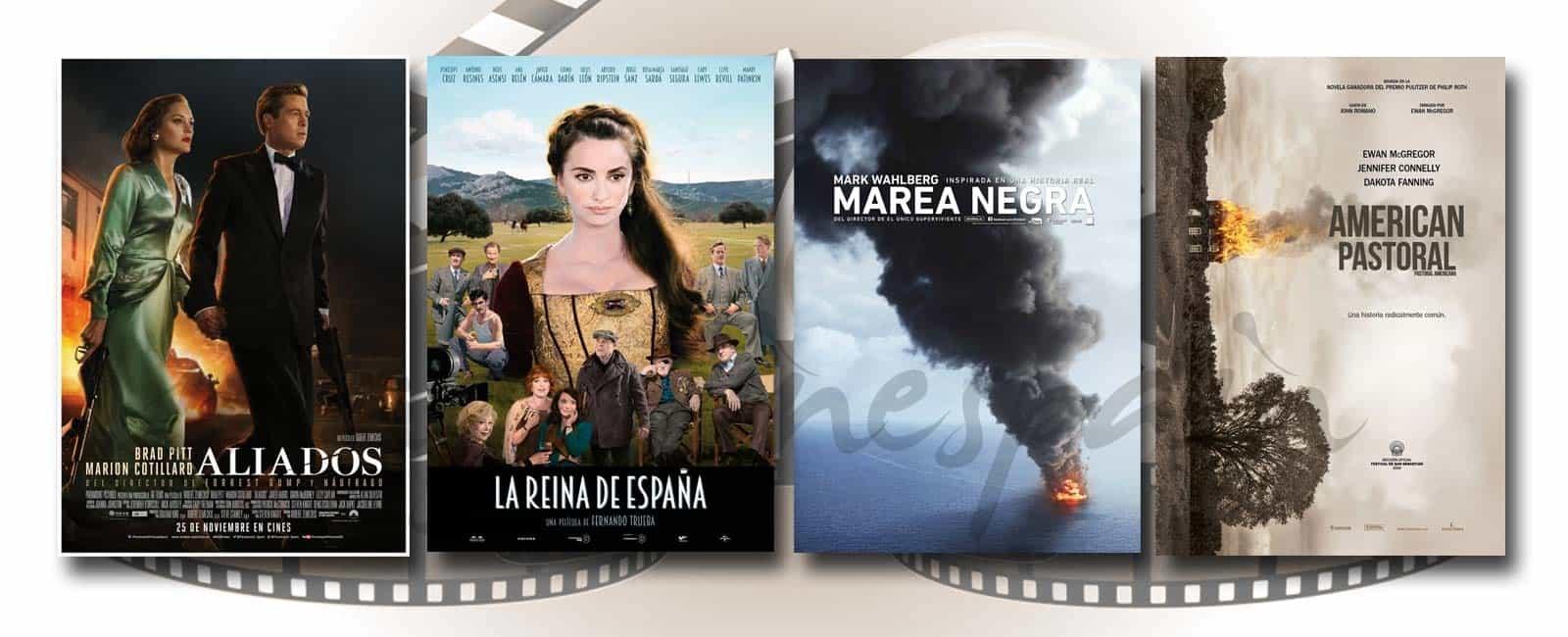 Estrenos de Cine de la Semana… 25 de Noviembre 2016