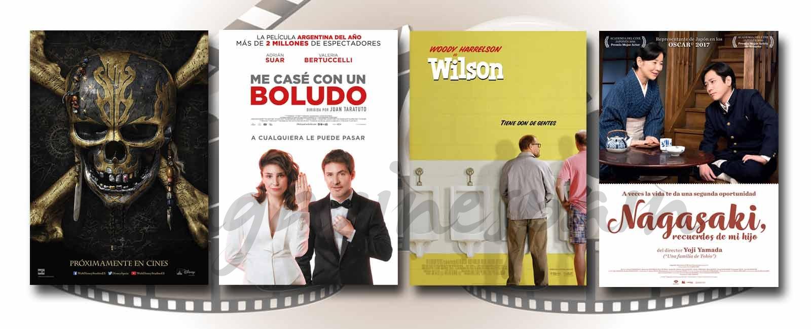 Estrenos de Cine de la Semana… 26 de Mayo 2017