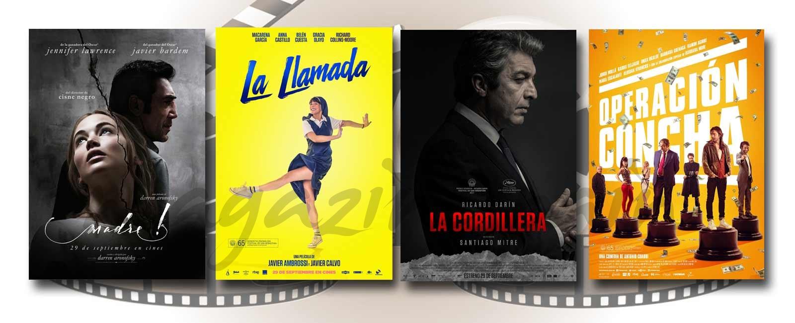 Estrenos de Cine de la Semana… 29 de Septiembre 2017