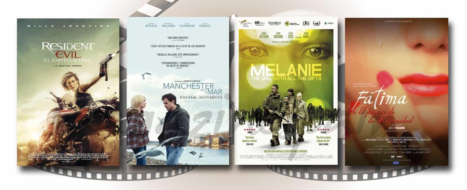 Estrenos de Cine de la Semana… 3 de Febrero 2017