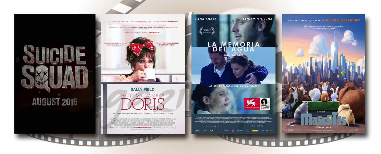 Estrenos de Cine de la Semana… 5 de Agosto de 2016