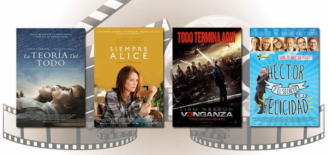 Estrenos de Cine de la Semana… 16 de Enero