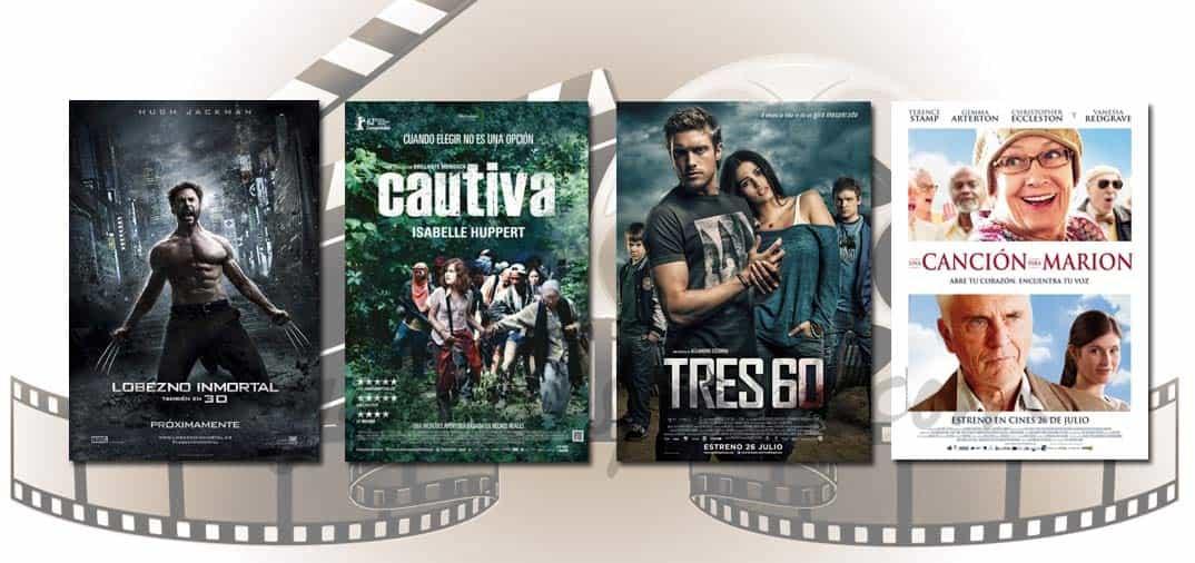 Estrenos de Cine de la Semana… 26 de Julio