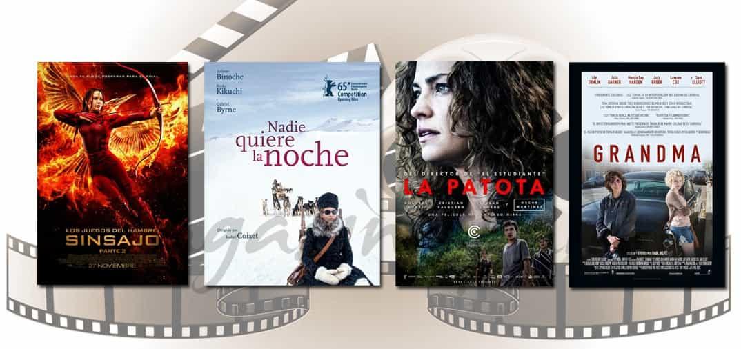 Estrenos de Cine de la Semana… 27 de Noviembre