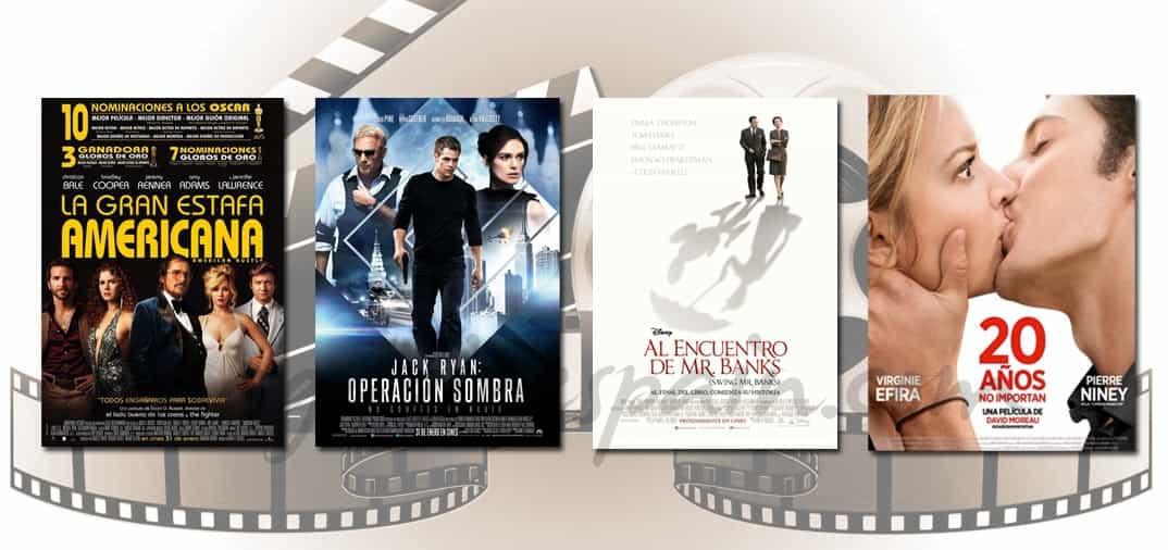 Estrenos de Cine de la Semana… 31 de Enero