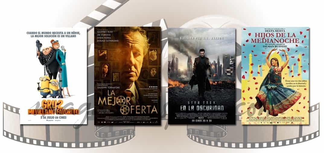 Estrenos de cine de la Semana…5 de Julio