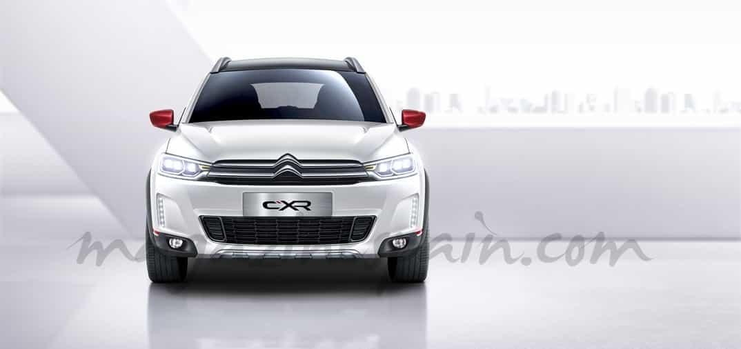 En el Salón de Pekín, Citroën presenta el,  C-XR Concept