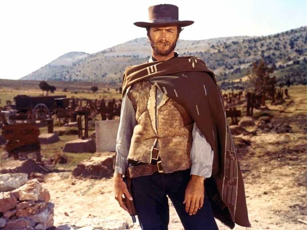 """Clint Eastwood en """"El bueno, el feo y el malo"""" (1966)"""